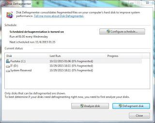 proses Merawat dan Mengelola Windows 7