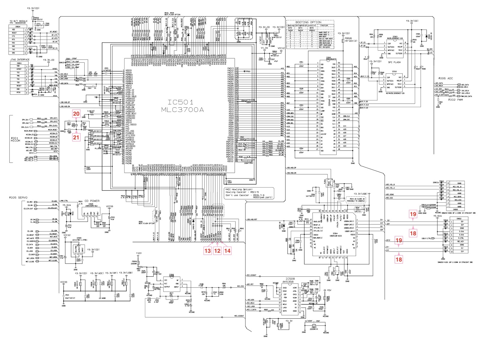 lg cm9730  u2013 smps and main amplifier  u2013 circuit diagram