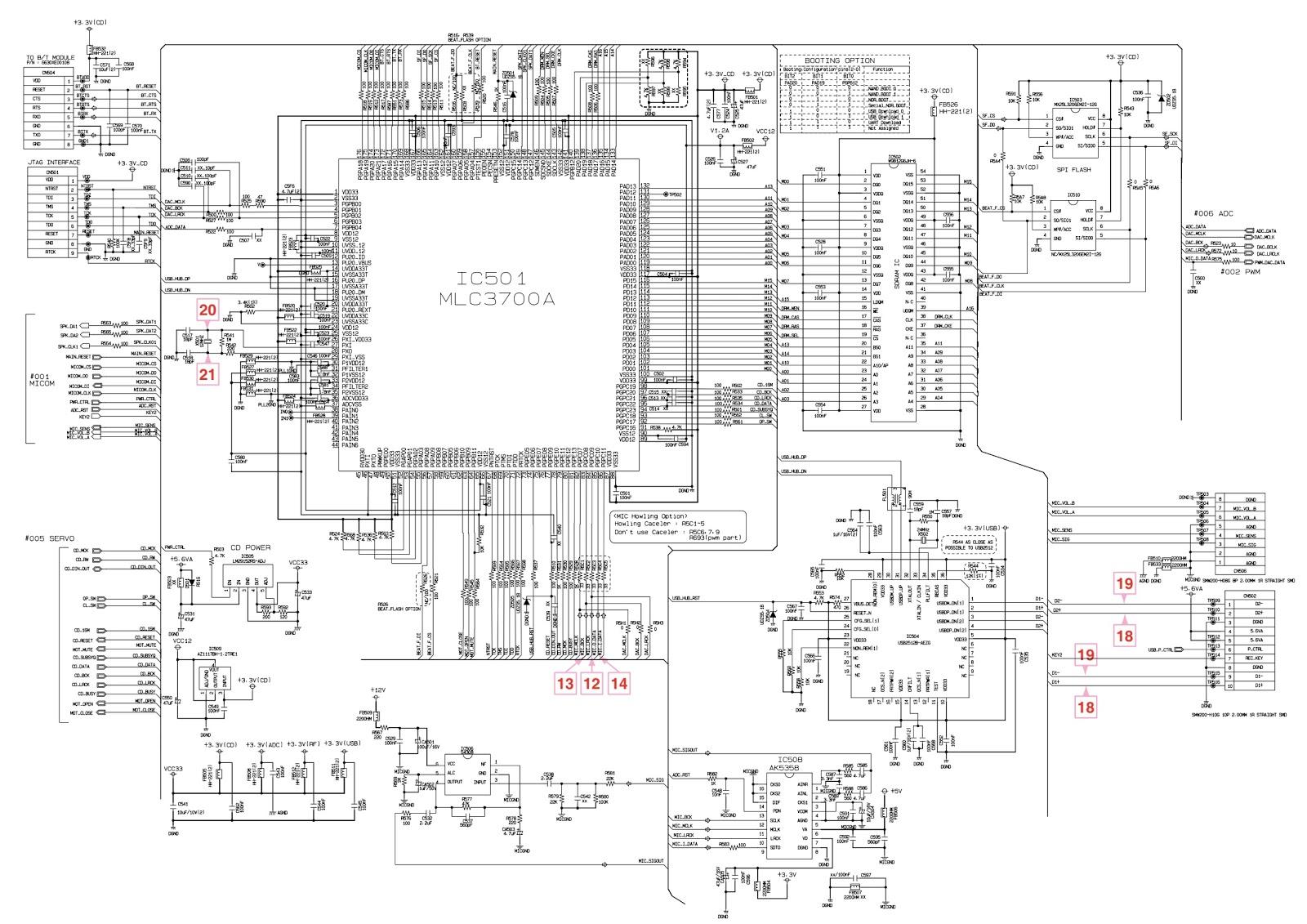 Lg Cm Smps And Main Amplifier Circuit Diagram