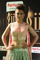 Akshara Haasan in Peachy Crop Top Choli Skirt at IIFA Utsavam Awards 67.JPG