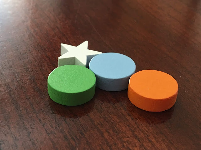 Score tokens for Cosmic Factory Kaosmos by Kane Klenko and Gigamic