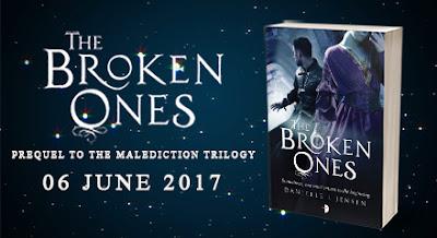 The Broken Ones Blog Tour banner