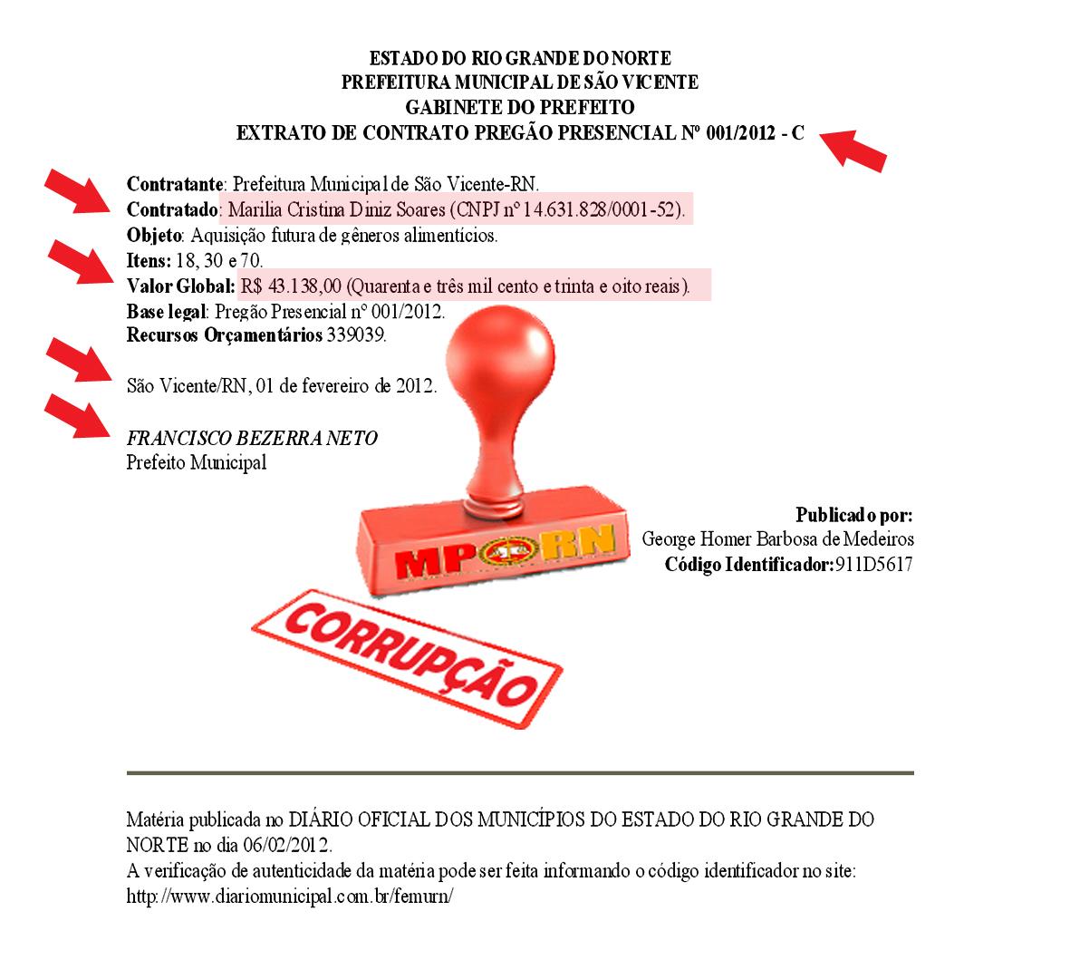 DOCUMENTO PUBLICADO PELA COMISSÃO DE LICITAÇÕES DA PREFEITURA DE SÃO VICENTE  NO DIÁRIO OFICIAL DA FEMURN   e882b328b7