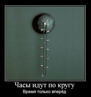 часы идут по кругу