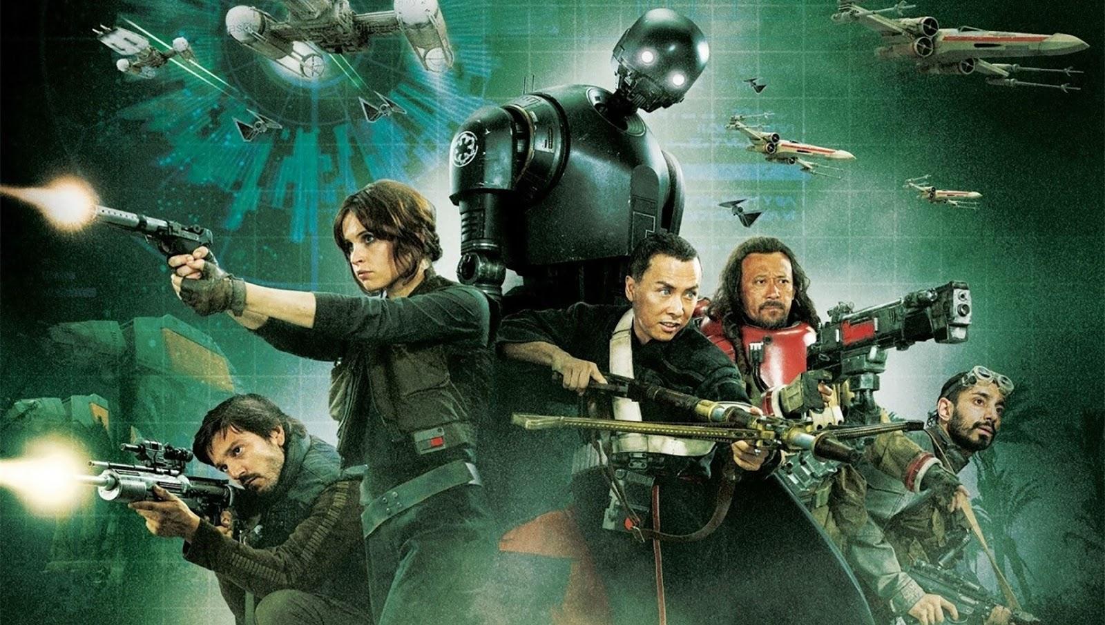 """Go Rogue - Assista ao 2º e terceiro episódio da websérie + Pôsteres inédito de """"Rogue One"""""""