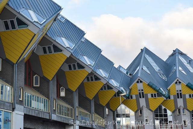 鹿特丹, Rotterdam, 荷蘭, 鉛筆屋, 方塊屋, cubic house