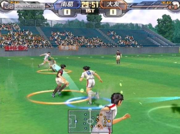 Captain Tsubasa PS2 GAME ISO Gameplay