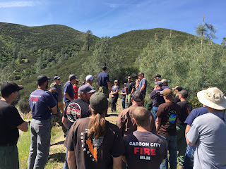 Rattlesnake fire staff ride