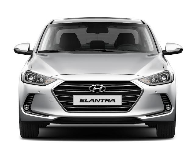 Hyundai New Elantra 2017 - frente
