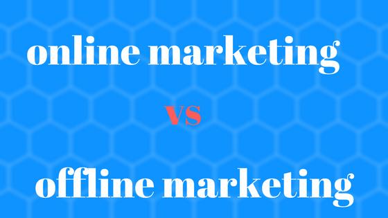 مقارنة بين التسويق التقليدي والتسويق الالكتروني  , التسويق التقليدي والتسويق الالكتروني