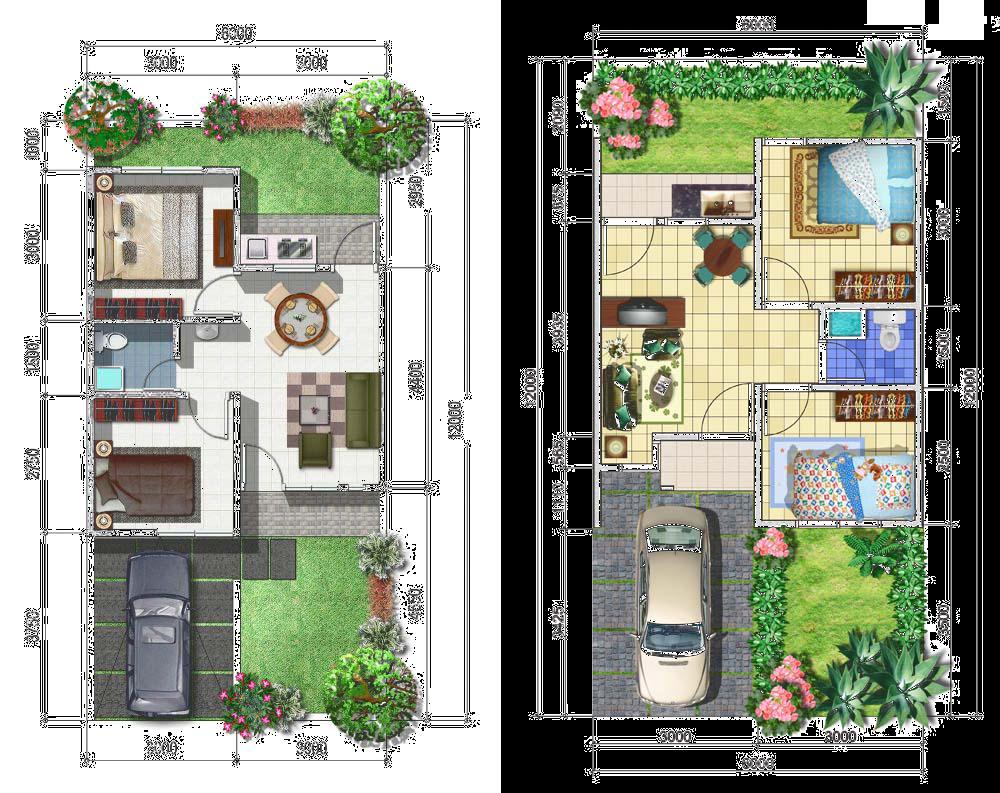 Kumpulan Desain Interior Rumah Minimalis Ukuran 6x12 Inilah 6 12