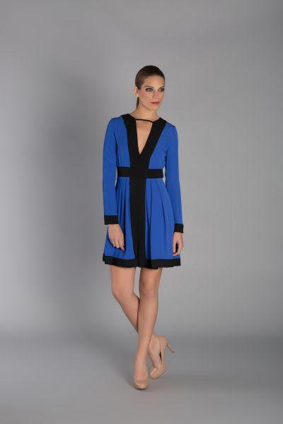vestidos damas de honor azul marino