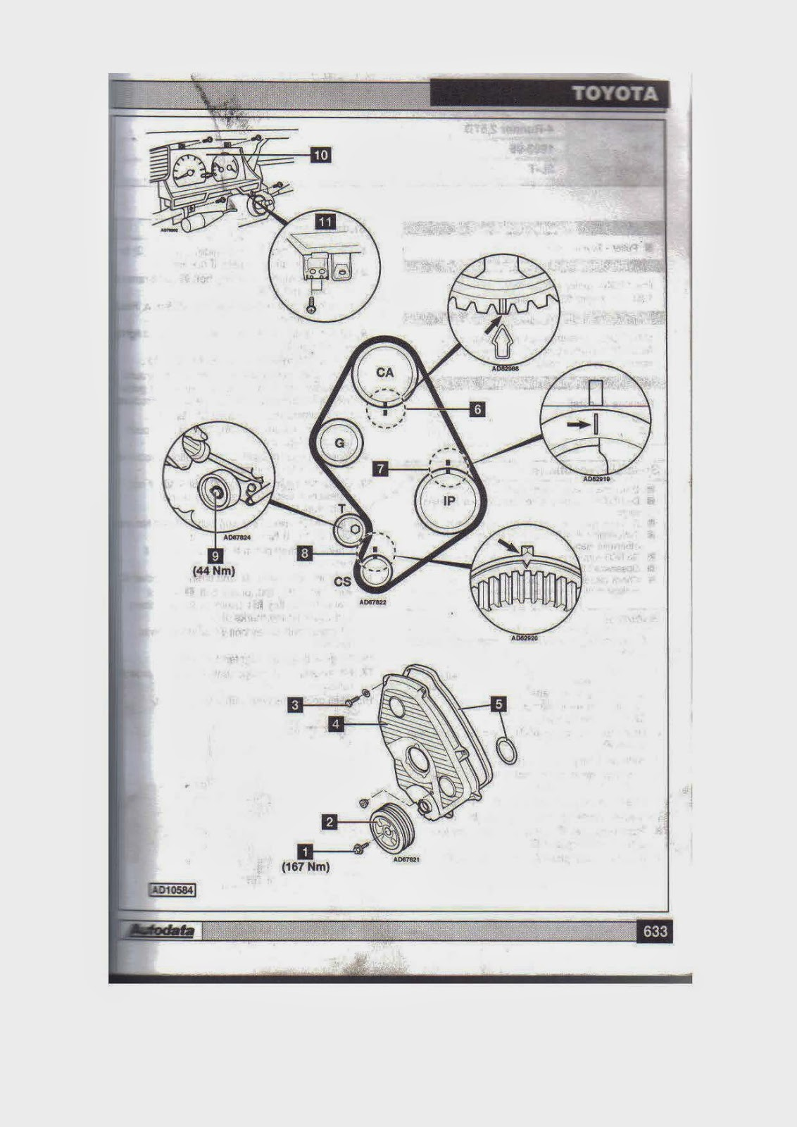 Tips De Mecanica En General  Distribucion Motor Toyota