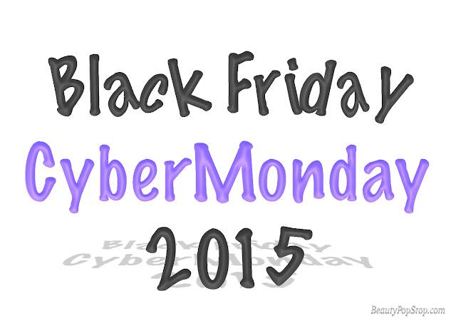 beautypopstop black friday cyber monday 2015 beauty makeup sales