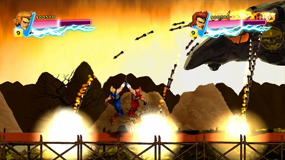 Double-Dragon-Neon-PC-Game-Screenshot-Review-www.ovagames.com-2