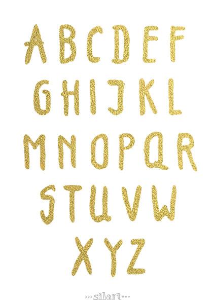 Alphabet gold