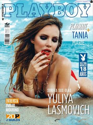 Yuliya Lasmovich - Playboy Venezuela Abril 2017 (36 Fotos HQ)