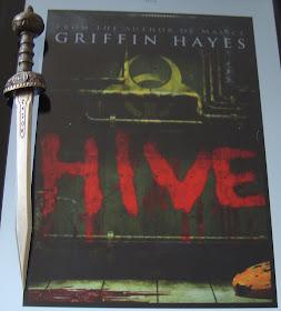 Portada del libro Hive, de Griffin Hayes