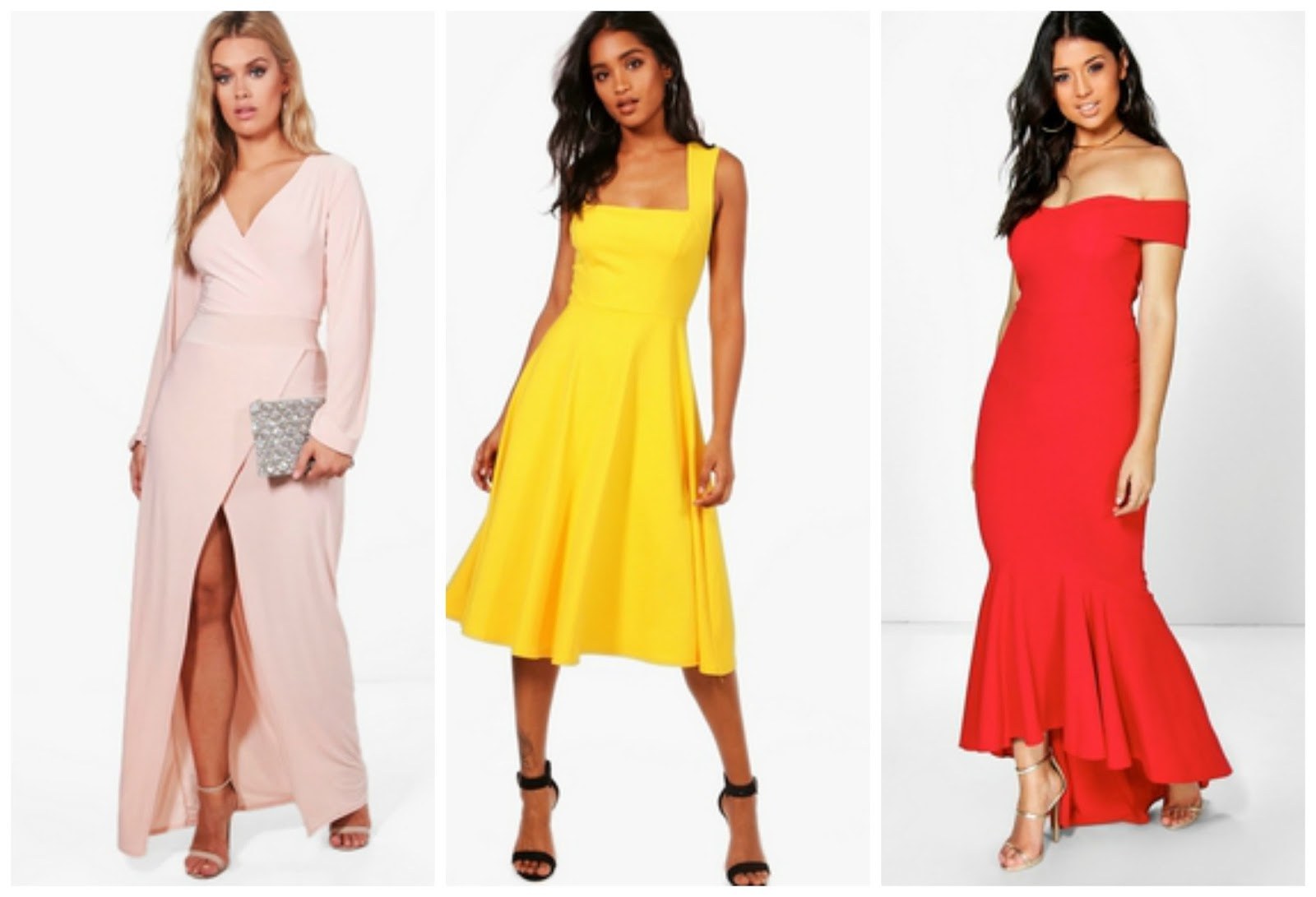 prom dresses on a budget with boohoo