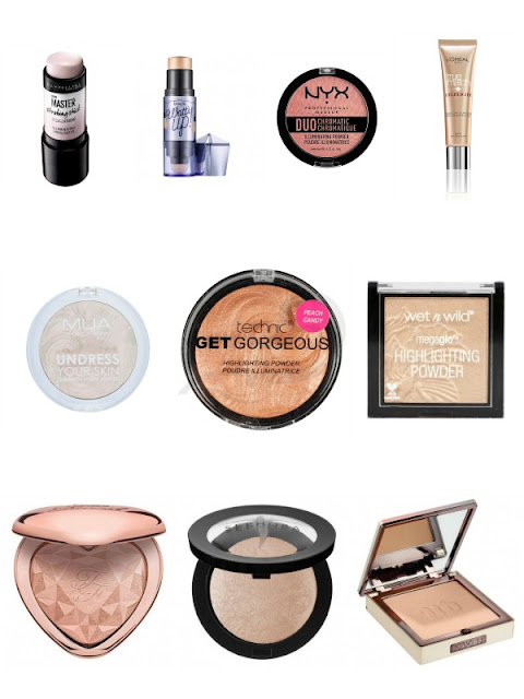 Top-10 Highlighters Shopping