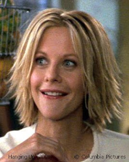 Celebrity Hairstyle Meg Ryan Hairstyle