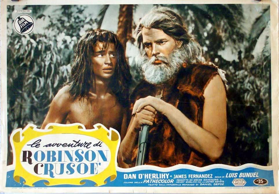 Robinson Crusoe - Luis Buñuel - película