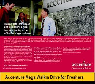 Accenture Mega Walkin Drive