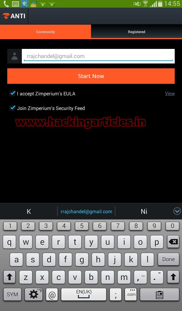 Network Penetration Testing using Android Phone (zANTI