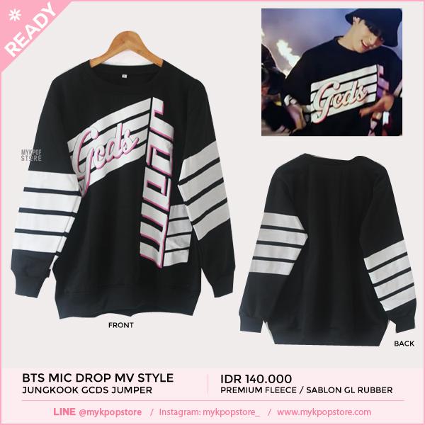 BTS (Mic Drop MV) Jungkook GCDS jumper