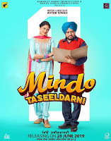 Mindo Taseeldarni (2019) Full Movie Punjabi 720p HDRip ESubs Download