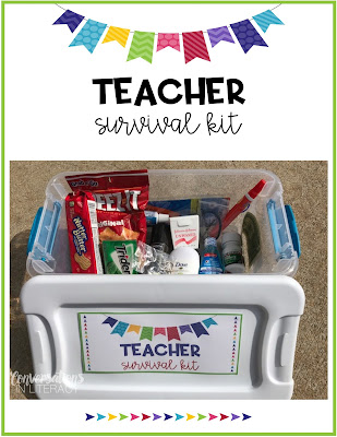Back to School Teacher Survival Kit
