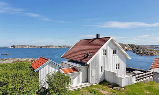 Desain rumah bergaya tradisional scandinavia