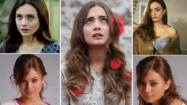 صور داملا سونمز damla Sonmez بطلة مسلسل حكاية حب ومسلسل حرب الورود