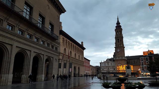 Plaza de las Catedrales - Zaragoza