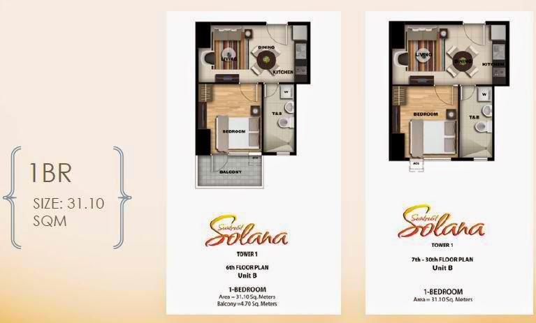 Solana Condominium 1 Bedroom Unit