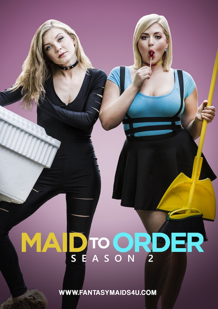 katie carpenter maid to order poster