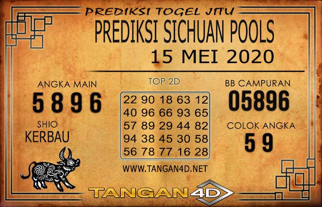 PREDIKSI TOGEL SICHUAN TANGAN4D 15 MEI 2020