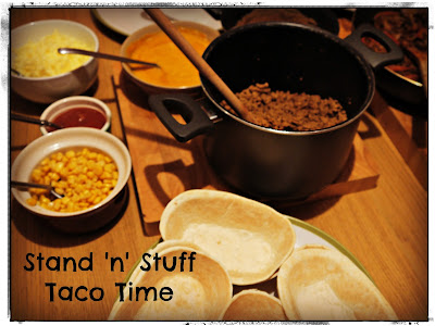 Old El Paso's Stand 'n' Stuff Soft Tacos