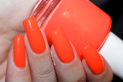 "Swatch of ""110 Degrees"" from Pipe Dream Polish"