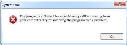 Télécharger Advapi32.dll Fichier Gratuit Installer