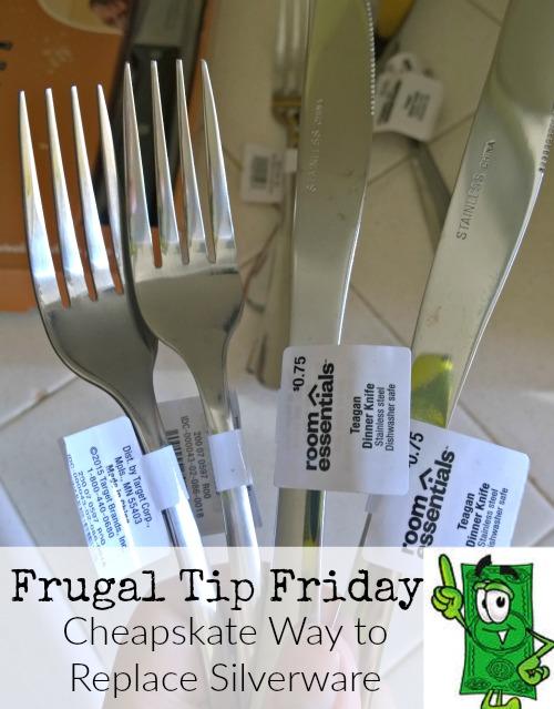 Target, silverware, frugal, cheapskate