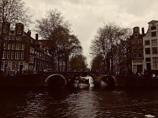 les ponts sur le canal Amsterdam