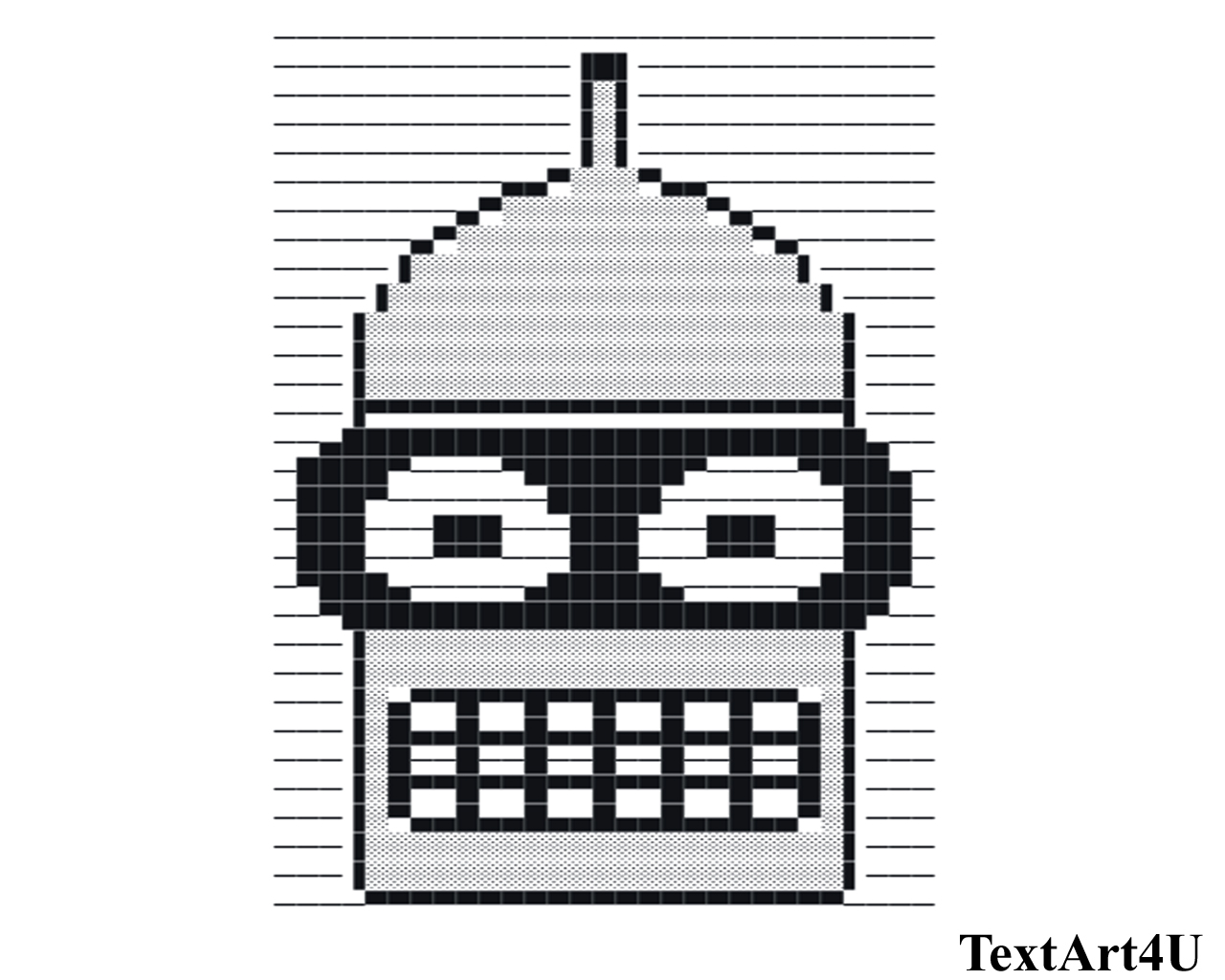 New Ascii Text Troll Face Middle Finger Text Thumbs Up Happy