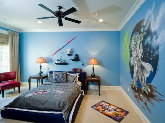 Design Interior Kamar Tidur Anak Laki Laki