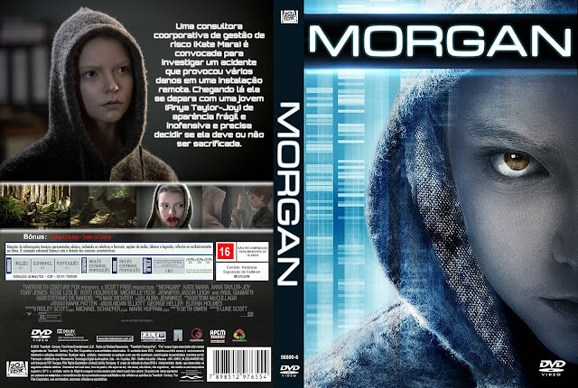 Capa DVD Morgan