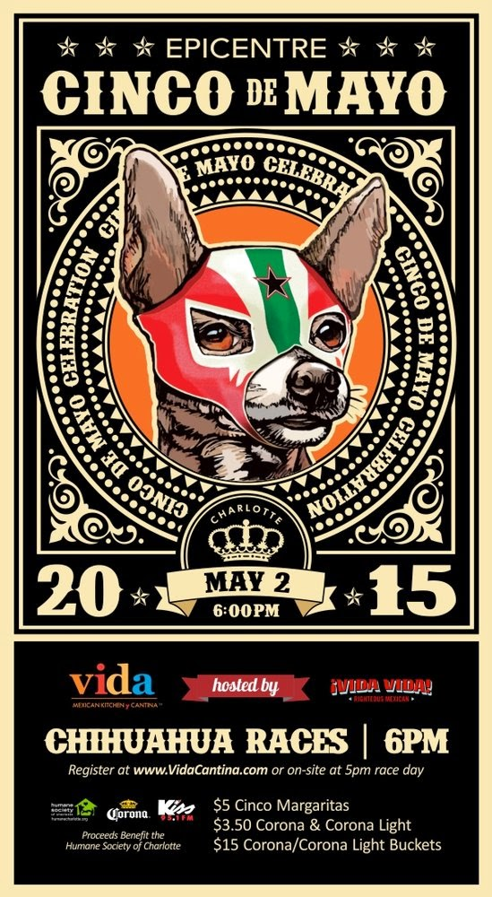 Sip + Play: Things to do in Charlotte: Cinco de Mayo Parties