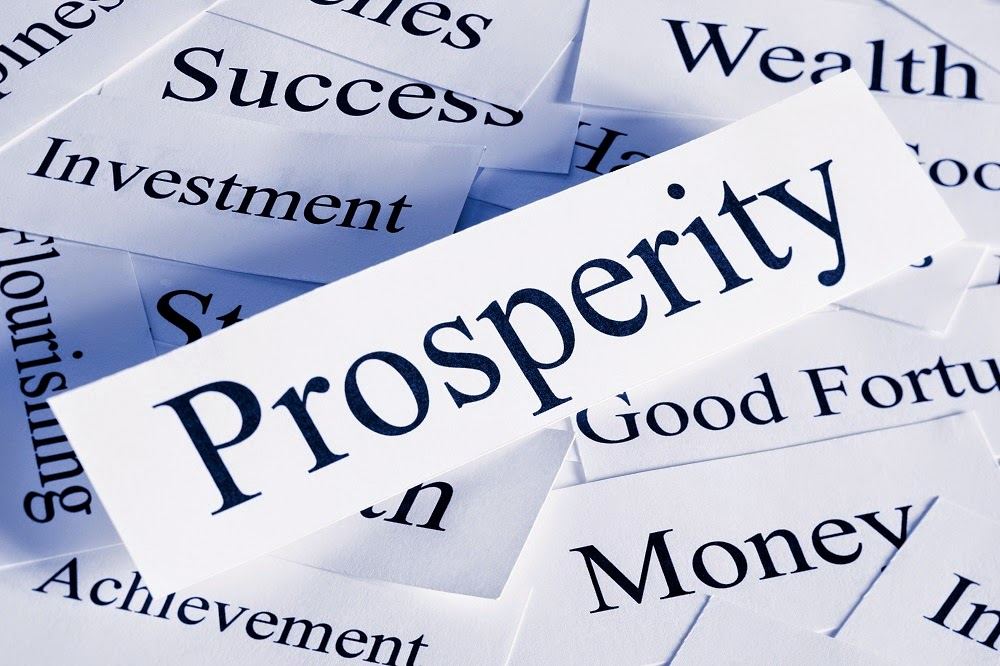 The Prosperity Community Blog What Does Prosperity Mean To You