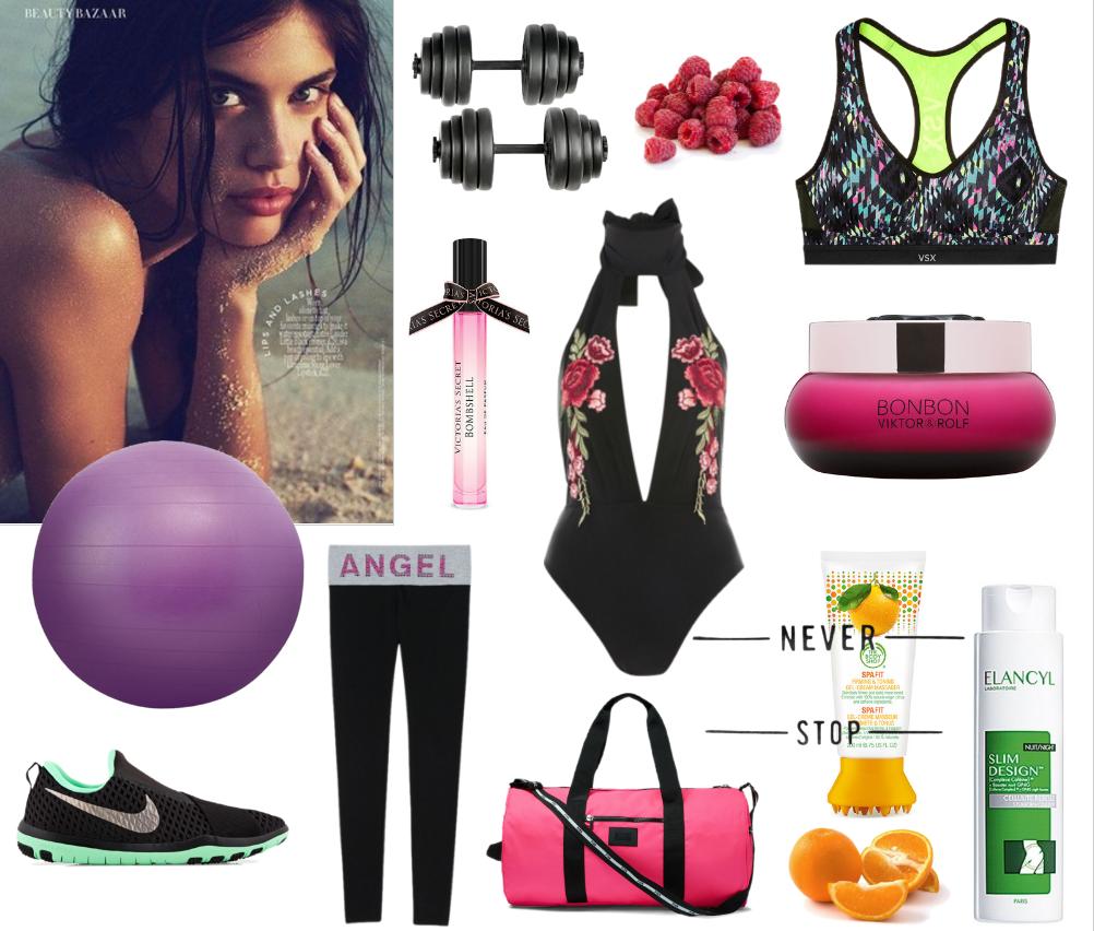 Corpo em forma | Sara Sampaio