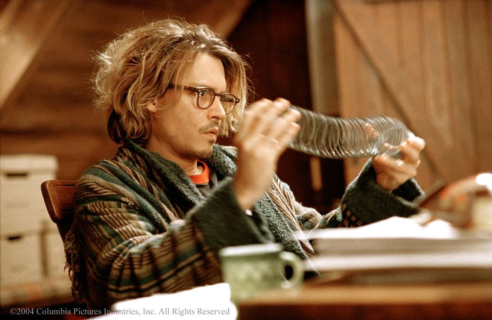 Johnny Depp as the lonely writer in Secret Window