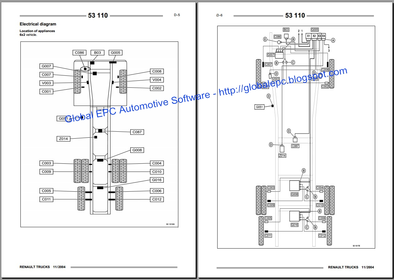 renault magnum workshop service manuals and wiring diagrams want to buy it for 15 email us global epc yandex com [ 1255 x 891 Pixel ]